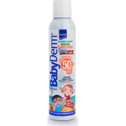 Intermed Babyderm Invisible Sunscreen Spray for Kids With Vitamin C SPF50 200ml