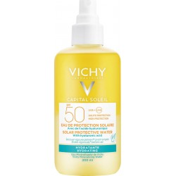 Vichy Capital Soleil Solar Protective Water with Hyaluronic Acid SPF50+ 200ml