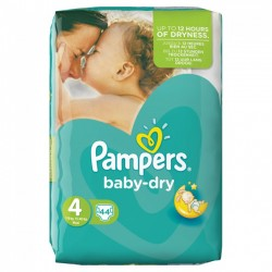 Pampers Baby Dry Maxi No4 (8-16kg) 44packs