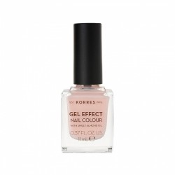 Korres Gel Effect Nail Colour No 04 Peony Pink 11ml