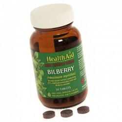 Health Aid Bilberry Berry Extract Tablets 30