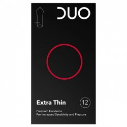 Duo Extra Thin Πολύ Λεπτό 12 τεμαχίων