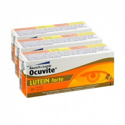 Bausch & Lomb Ocuvite Lutein Forte 90tabs 3x30tabs