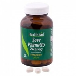 Health Aid Saw Palmetto Berry Extract Tablets 30
