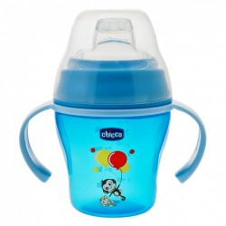 Chicco Soft Cup 6m+ Σιελ